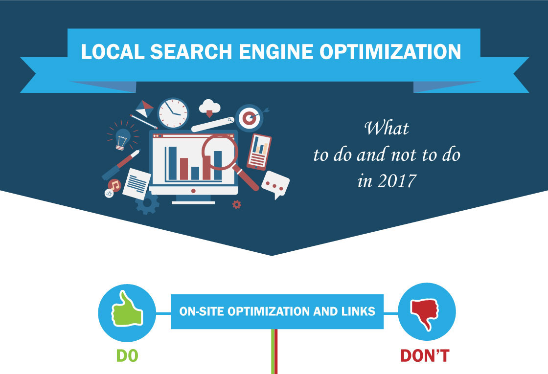 Local SEO in 2017 Infographic
