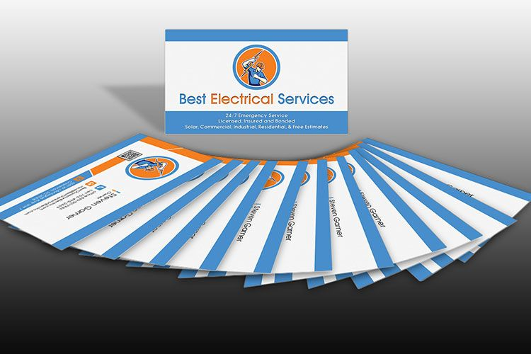 best-electrical-services-business-cards